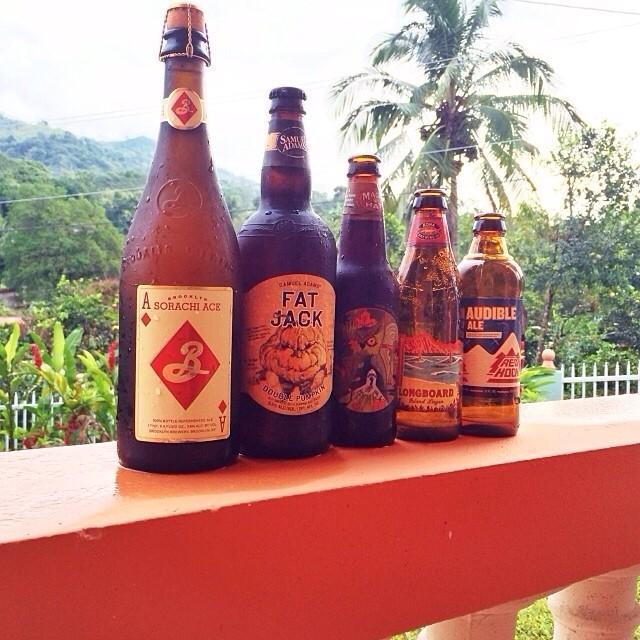 @Manuhola en Instagram muestra parte de lo que degustó en el weekend