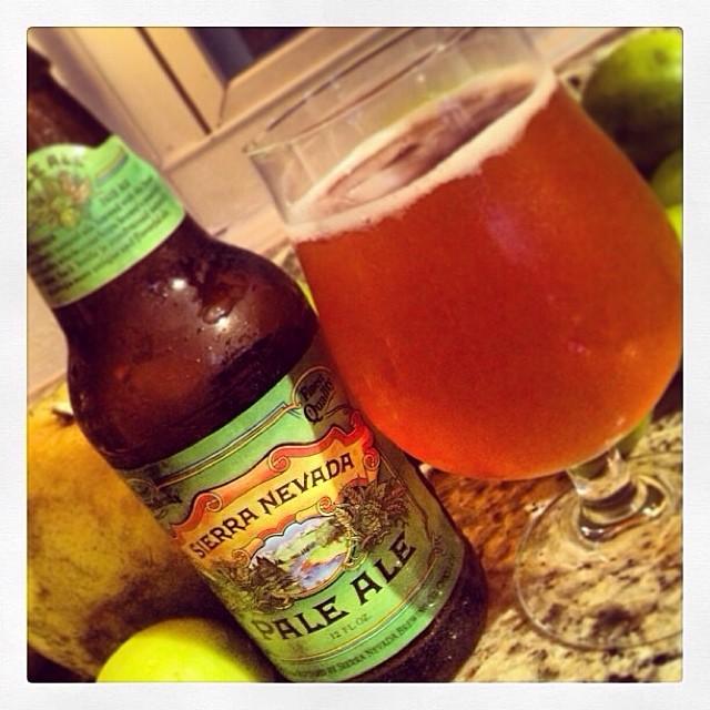 Sierra Nevada Pale Ale vía @thecraftbeergal en Instagram