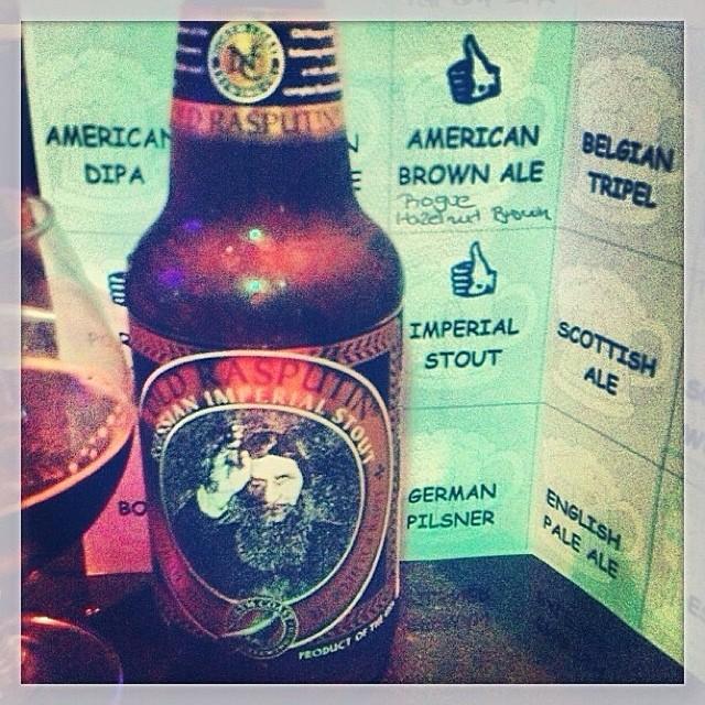 North Coast Old Rasputin Imperial Stout vía @thecraftbeergal en Instagram