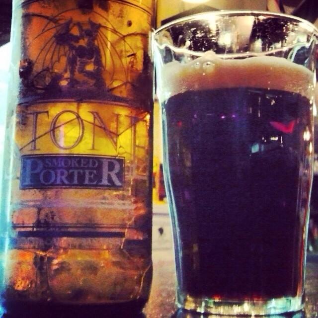 Stone Smoked Porter vía @valdorm en Instagram