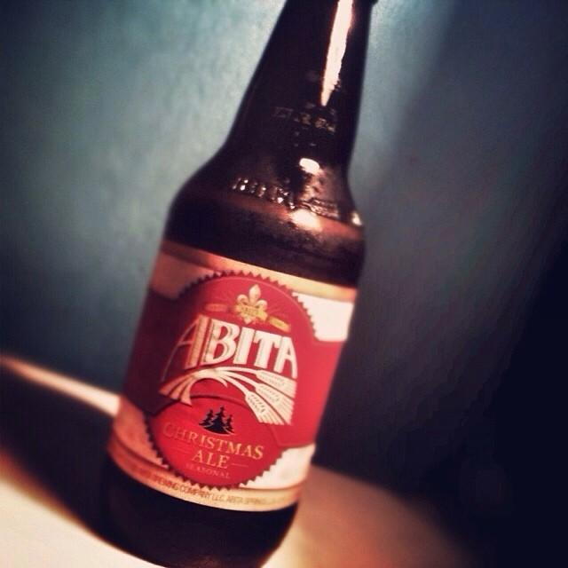 Abita Christmas Ale vía @lornajps en Instagram
