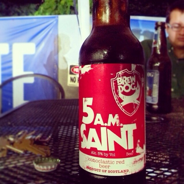 Brew Dog 5am Saint vía @bumbax en Instagram