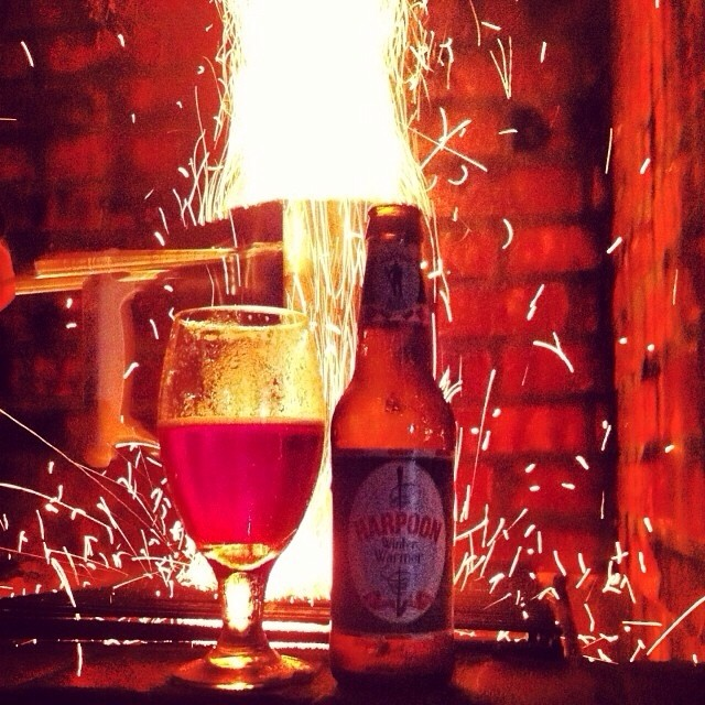 Harpoon Winter Warmer vía @carla_marian en Instagram