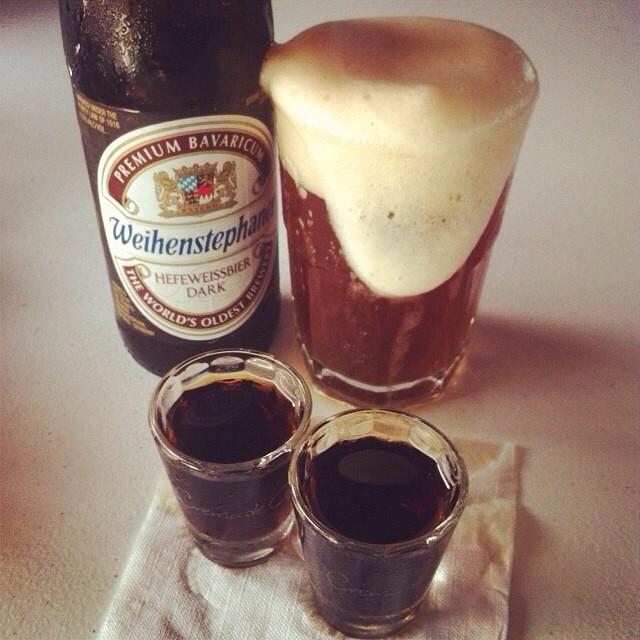 Weihenstephaner Hefeweissbier Dark vía @apaman8 en Instagram