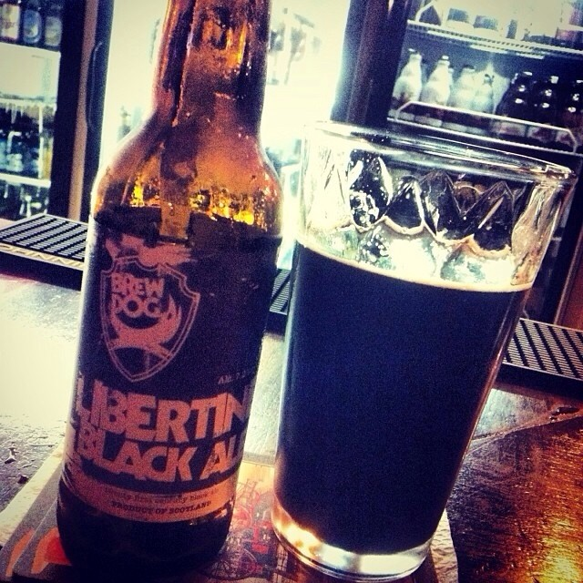Brew Dog Libertine Black Ale vía @lornajps en Instagram