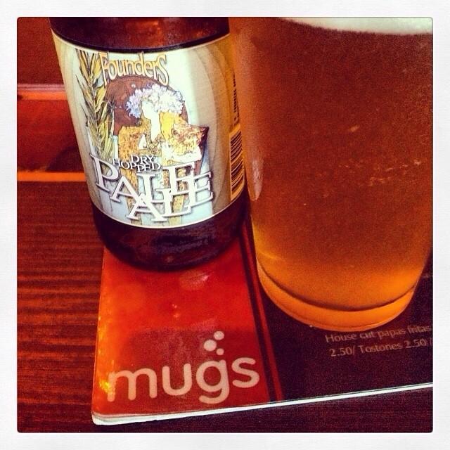 Founder Dry Hopped Pale Ale vía @thecraftbeergal en Instagram