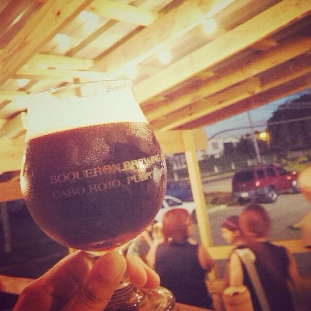 Boquerón Brewing Coffee Porter vía @izqrdo en Instagram