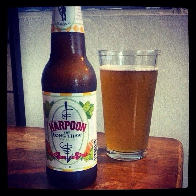 Harpoon The Long Thaw White IPA vía @adejesus80 en Instagram
