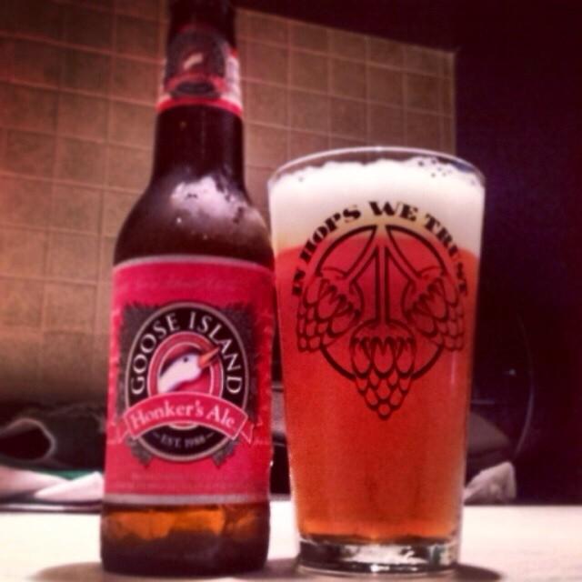 Goose Island Honker's Ale vía @valdorm en Instagram