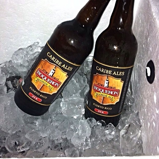Boquerón Brewing Blonde Ale vía @cmfrank en Instagram