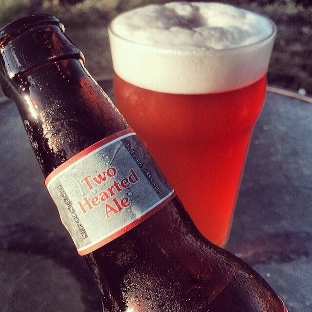 Bell's Two Hearted Ale vía @apaman8 en Instagram