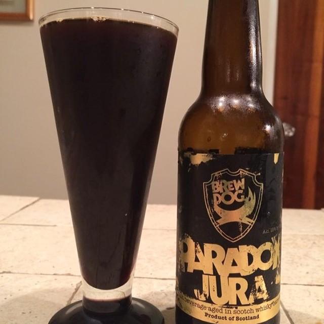 BrewDog Paradox Jura vía Ray Cruz en Facebook