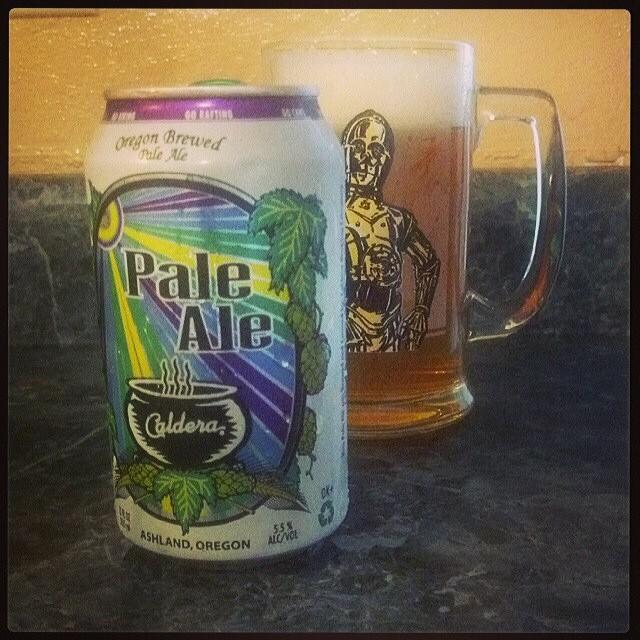 Caldera Pale Ale vía @adejesus80 en Instagram
