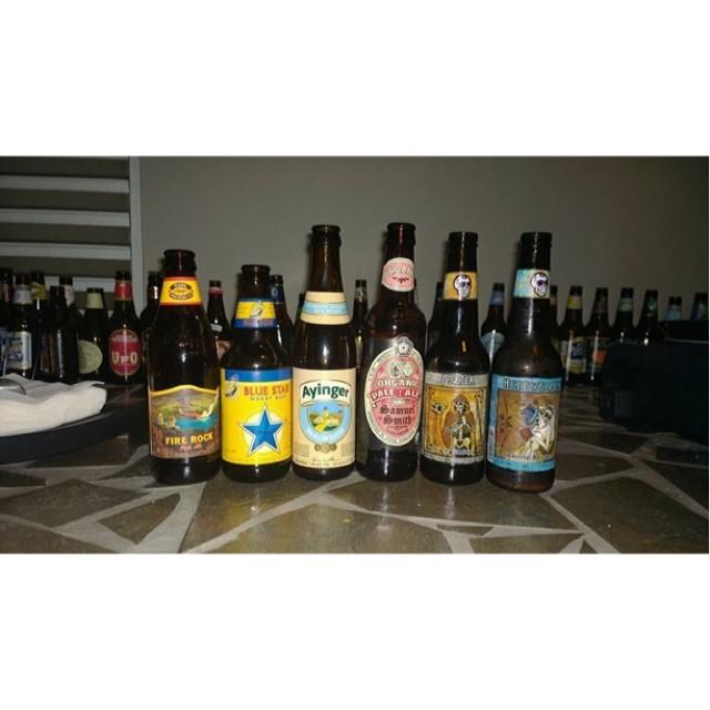 Selección degustada por José Rosa y su grupo BM Craft Beer vía Facebook