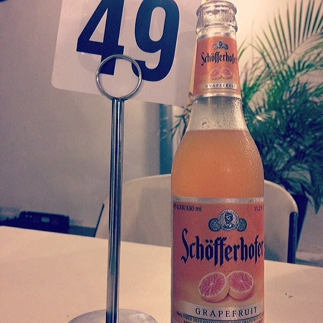 Schöfferhofer Grapefruit vía @mismarii en Instagram