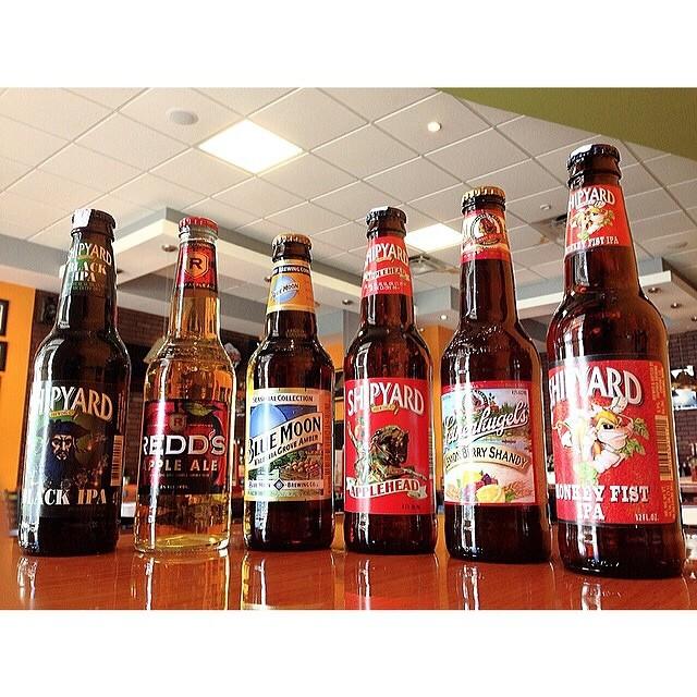 Selección de cervezas de @buffalogrillpr en Instagram