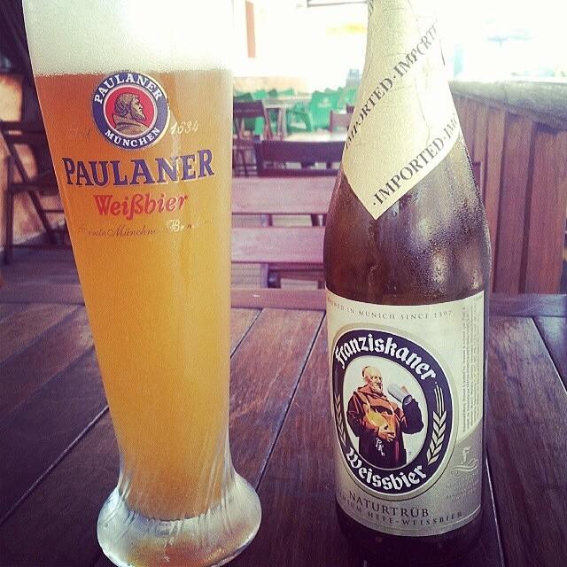 Franziskaner Weissbier vía @emekatreberesei en Instagram
