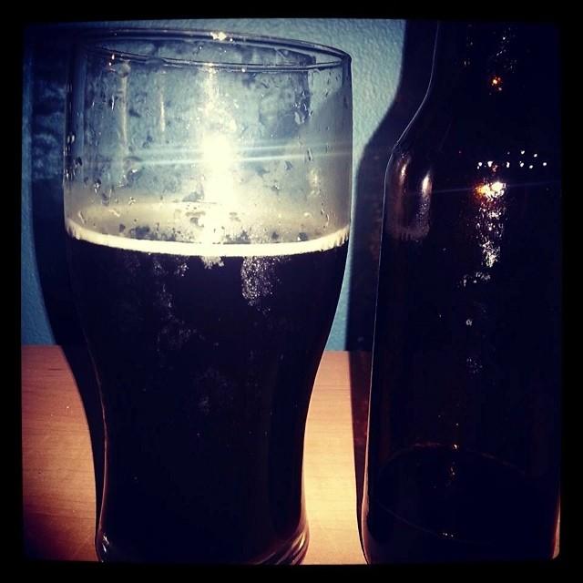 St. Pauly Porter cerveza casera vía Chon González en Facebook