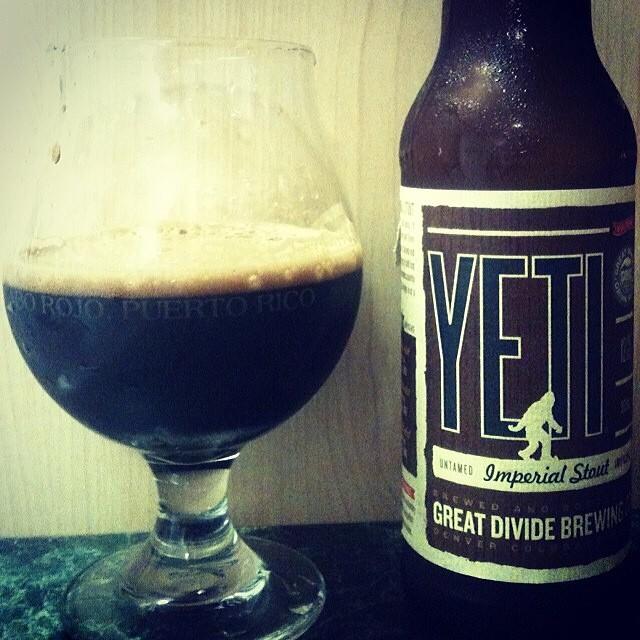 Yeti Imperial Stout vía @jsantiagomurphy en Instagram