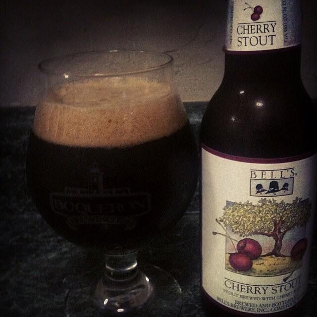Bell's Cherry Stout vía @jsantiagomurphy en Instagram