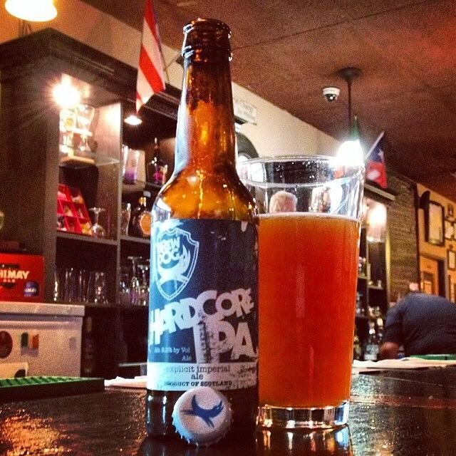 Brew Dog Hardcore IPA vía @valdorm en Instagram