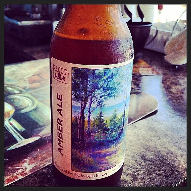 Bell's Amber Ale vía @anamoffin en Instagram
