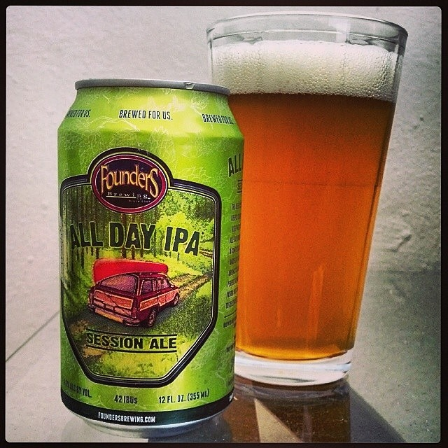 Founders All Day IPA vía @adejesus80 en Instagram