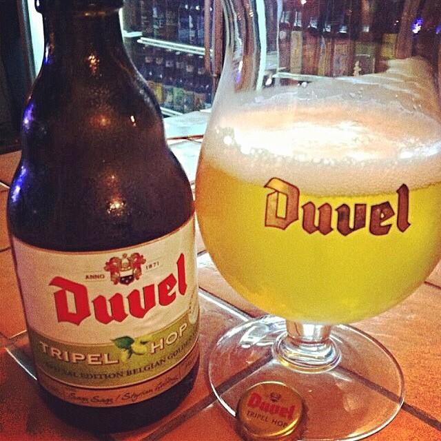 Duvel Tripel Hop vía @aibonitobeergarden en Instagram