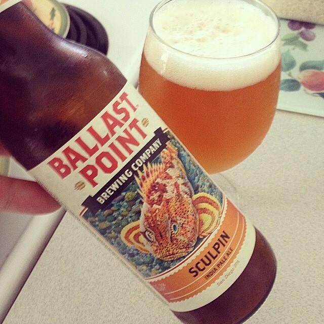 Ballast Point Sculpin IPA vía @rafeluzzi en Instagram