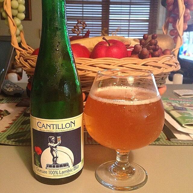 Cantillon Gueuze 100% Lambic Bio vía @fmarcano89 en Instagram