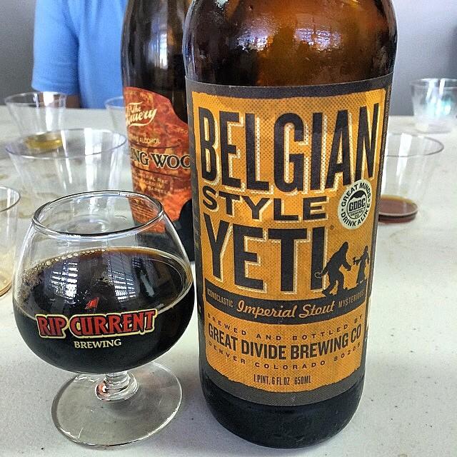 Belgian Style Yeti vía @ramonesbrew en Instagram