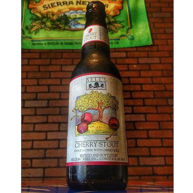 Bell's Cherry Stout vía @victor_soto27 en Instagram