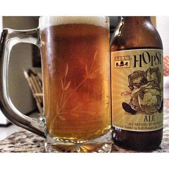 Bell's Hopslam Ale vía @santosbaez en Instagram