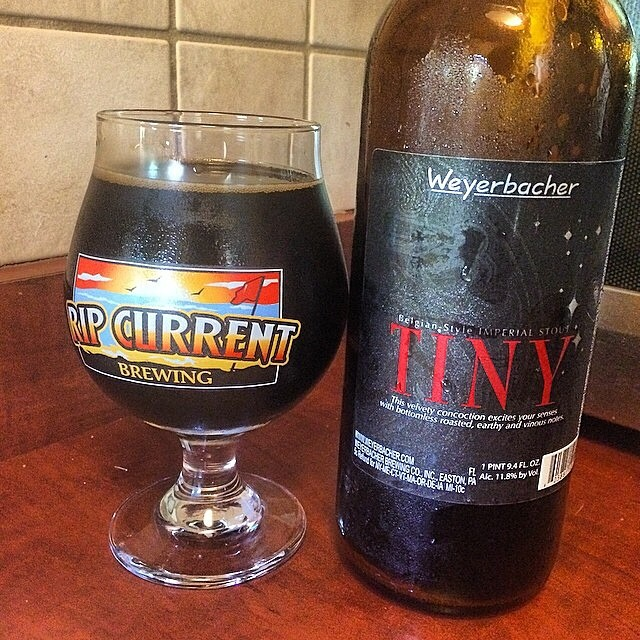Tiny Imperial Stout vía @ramonesbrew en Instagram