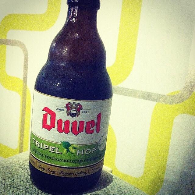 Duvel Tripel Hop vía @lornajps en Instagram