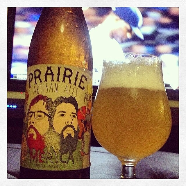 Prairie Artisan Ales Saison vía @thecraftbeergal en Instagram
