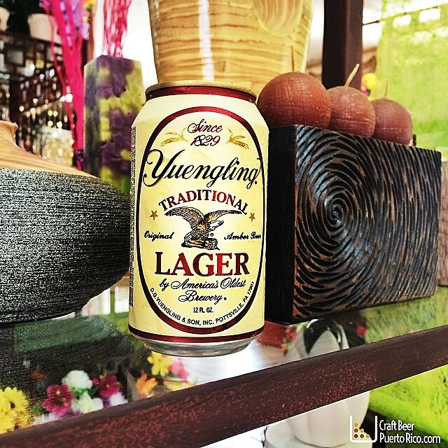 Yuengling Tradional Lager vía @manuhola en Instagram