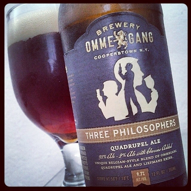 Ommegang Three Philosophers vía @adejesus80 en Instagram