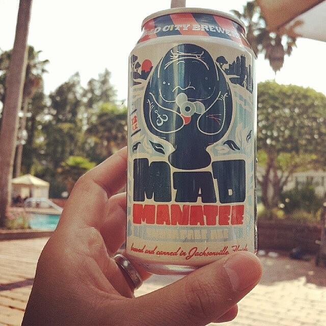 Mad Manatee IPA vía @mauricioh77 en Instagram