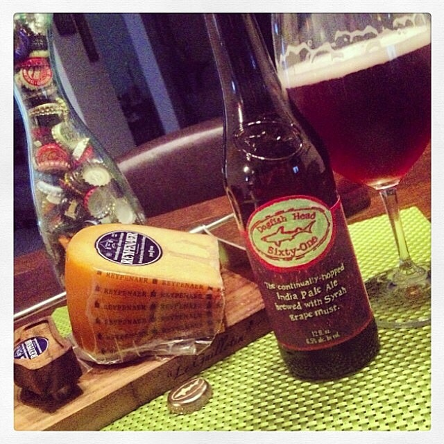 Dogfish Head Sixty-One vía @thecraftbeergal en Instagram