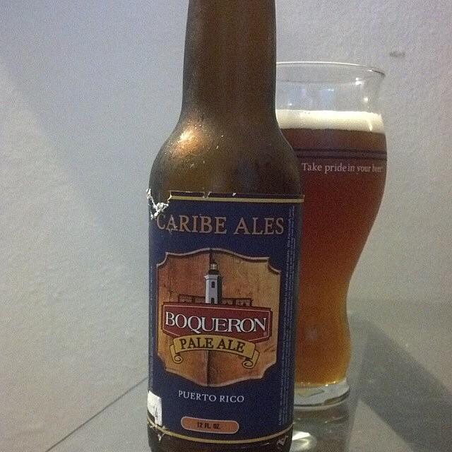 Boquerón Brewing Pale Ale vía @adejesus80 en Instagram