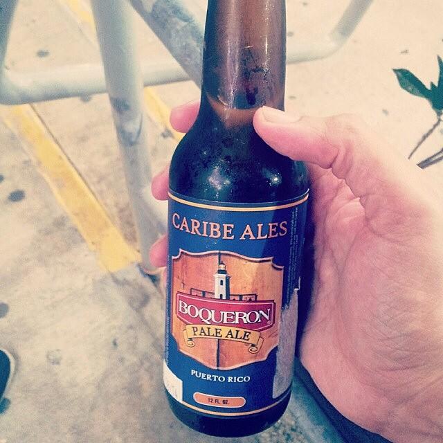Pale Ale de Boquerón Brewing vía @emekatreberesei en Instagram