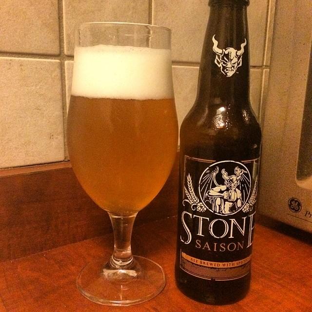 Stone Saison vía @ramonesbrew en Instagram