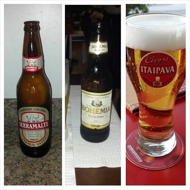Cervezas de Brasil vía Edwin Rodríguez en Facebook