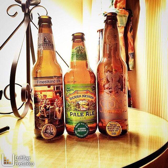 Cervezas degustadas el domingo por @manuhola