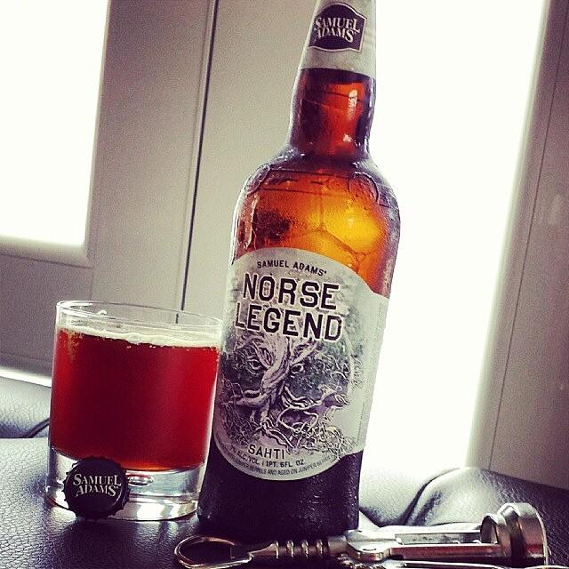 Samuel Adams Norse Legend vía @makiromusic en Instagram