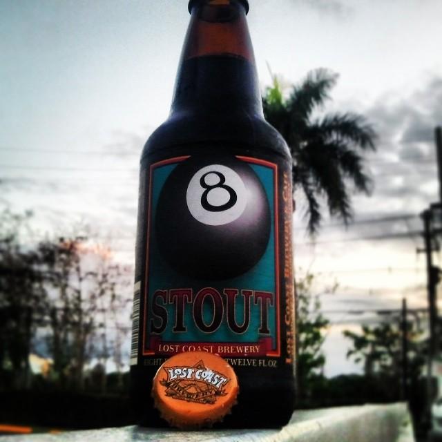 Lost Coast 8-ball Stout vía @valdorm en Instagram
