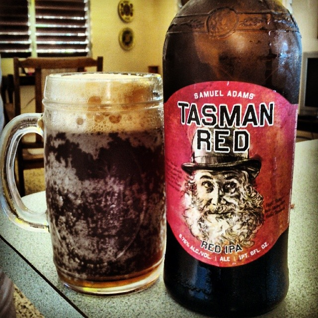 Samuel Adams Tasman Red vía @cracker8110 en Instagram