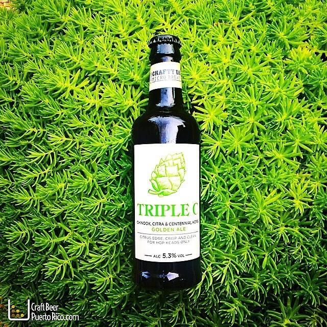 Triple C Golden Ale vía @manuhola en Instagram