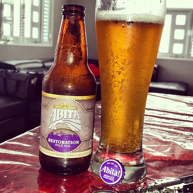 Abita Restoration Pale Ale vía @makiromusic en Instagram